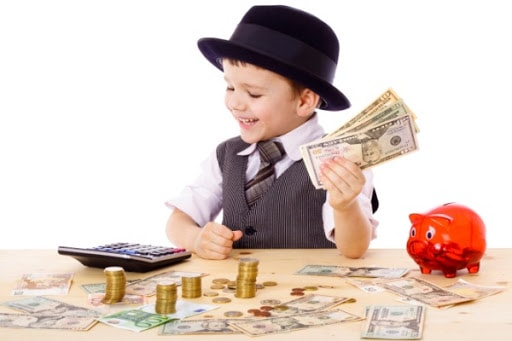 Trẻ em Do Thái kiếm tiền