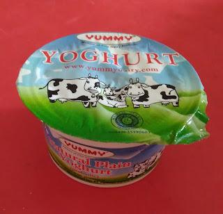 Yoghurt di pasaran
