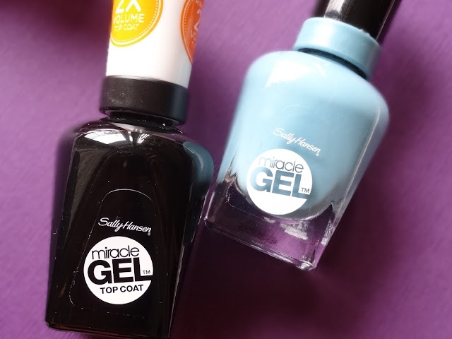 Sally Hansen Miracle Gel, Color Therapy Nail Polishes