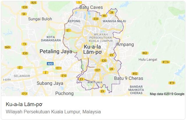 Kuala Lumpur Maps