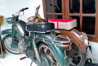 Jual Motor Klasik Antik DKW Super 50cc Warisan Mbahe