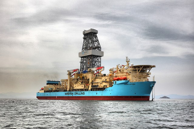 Maersk Drillship Spuds World's Deepest Well