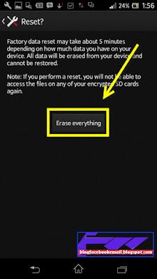 cara menghapus semua data yang ada di android acer lenovo asus opo