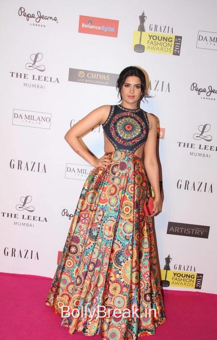 Deeksha Seth Pictures, Deeksha Seth Hot Pics from Grazia Young Fashion Awards 2015
