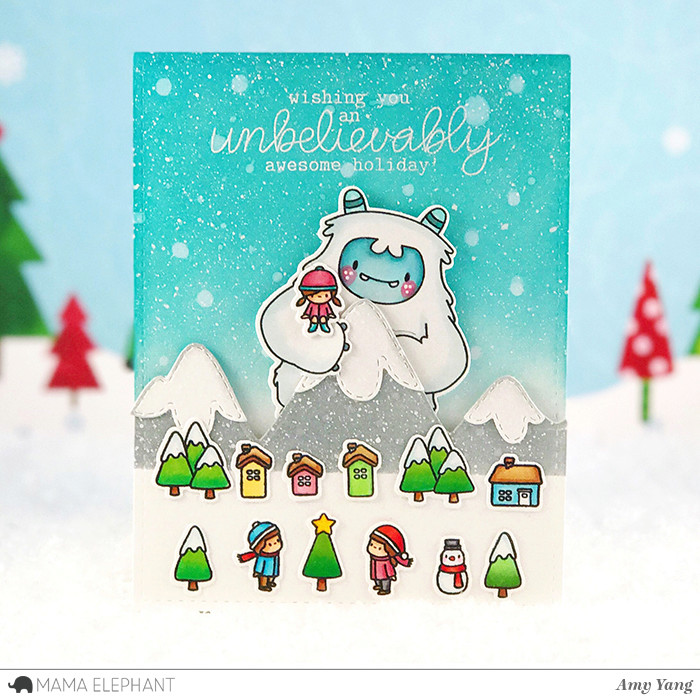mama elephant | design blog: STAMP HIGHLIGHT : SENTIMENTS FROM A YETI
