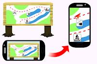 как на смартфоне создать карту из изображения