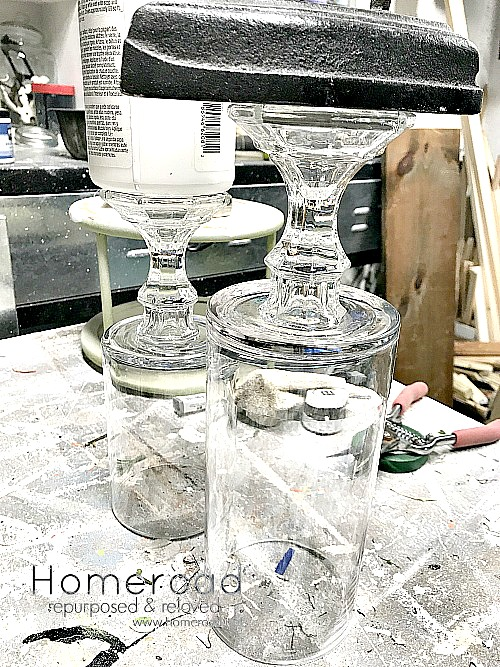 How to Make a DIY Pedestal Vase. Homeroad.net