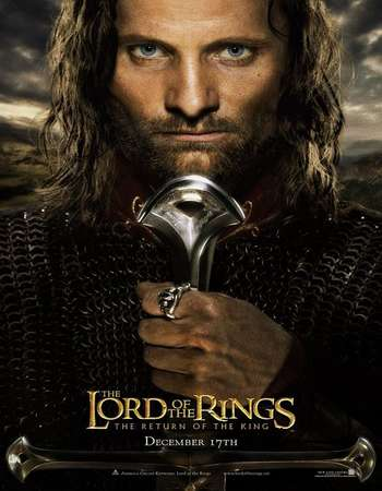 Poster Of The Lord of the Rings: The Return of the King 2003 Hindi Dual Audio 800MB Extended BRRip 720p ESubs HEVC Free Download Watch Online downloadhub.in