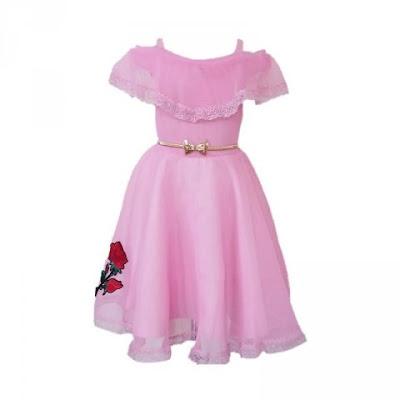 baju ultah anak princess