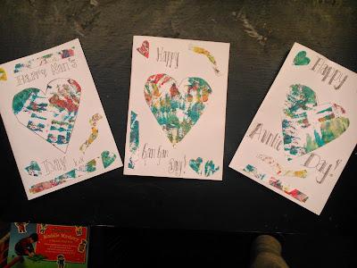 Mother's Day crafted cards