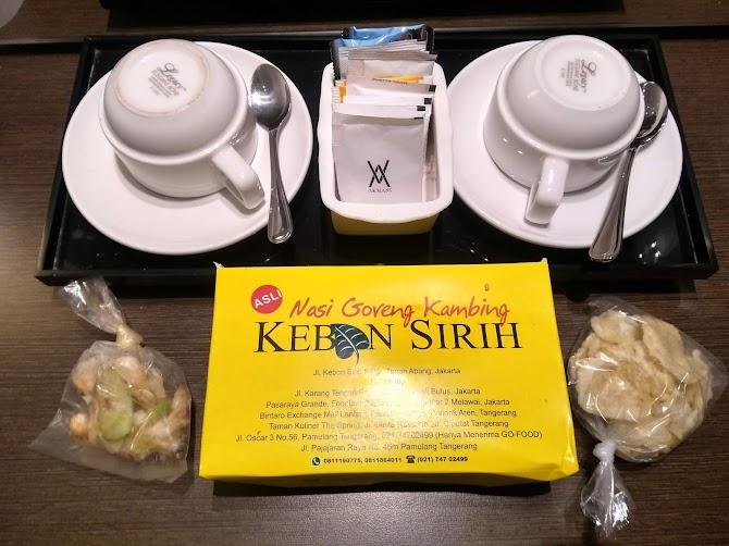 Mencicipi Nasi Goreng Kambing Kebon Sirih Jakarta