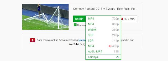 Cara Terbaru Download Video Youtube Dengan Mudah dan Cepat 2017