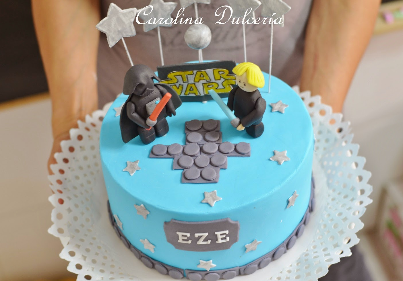 Favorito Carolina Dulcería : Torta Star Wars Lego XE13