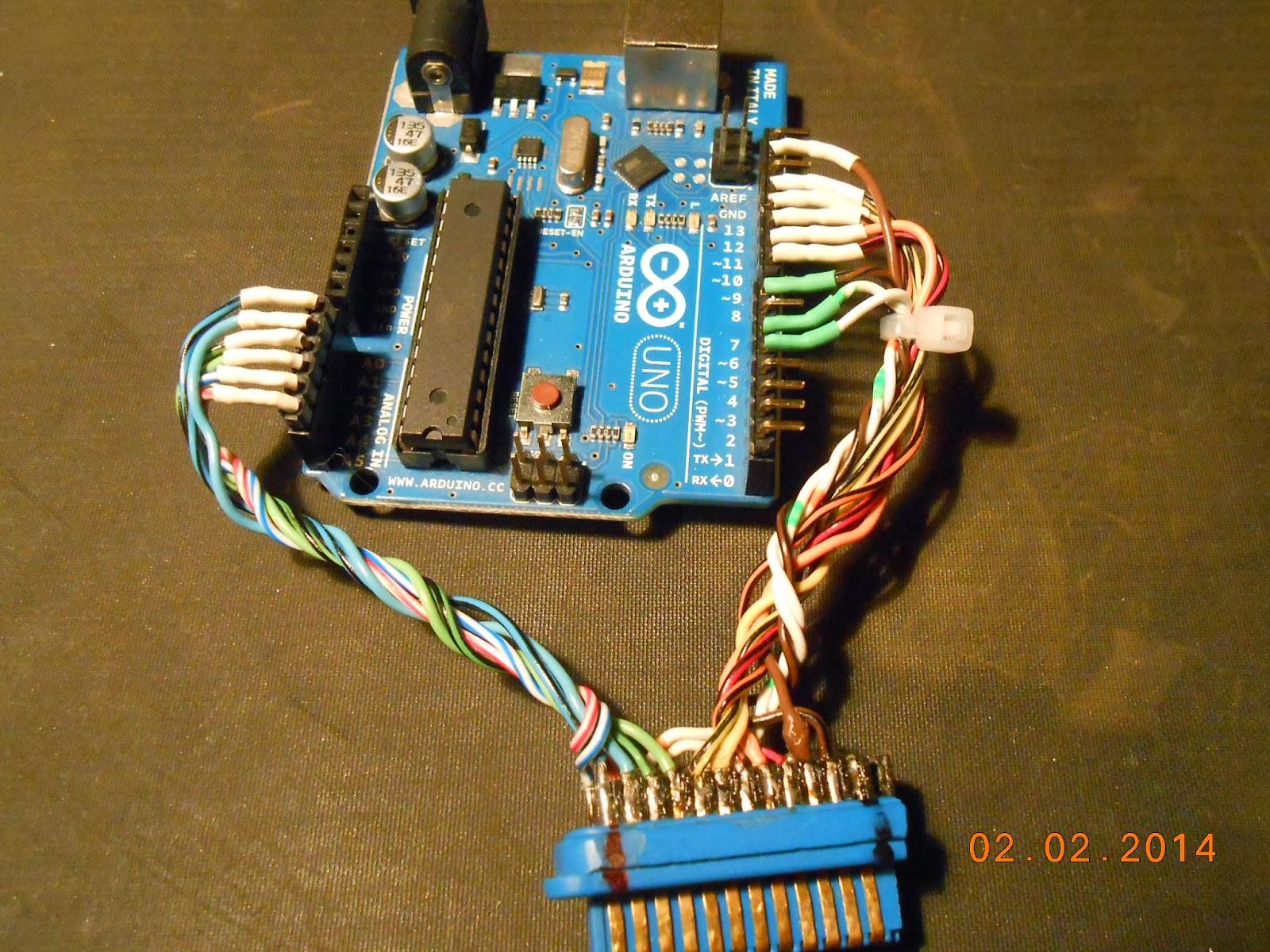 GPIB-Arduino fixture