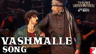Vashmalle Lyrics | Sukhwinder Singh | Thugs of Hindostan