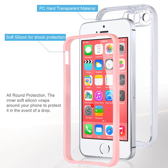 Shockproof Cover for Apple iPhone 8 2017 by Lumen