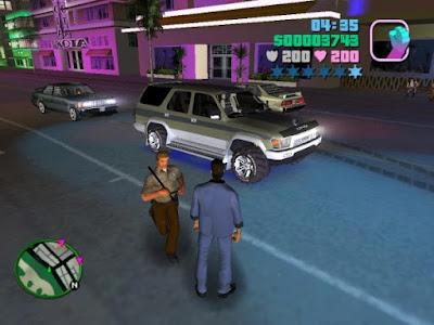 تحميل لعبة جاتا 7 GTA للكمبيوتر برابط مباشر