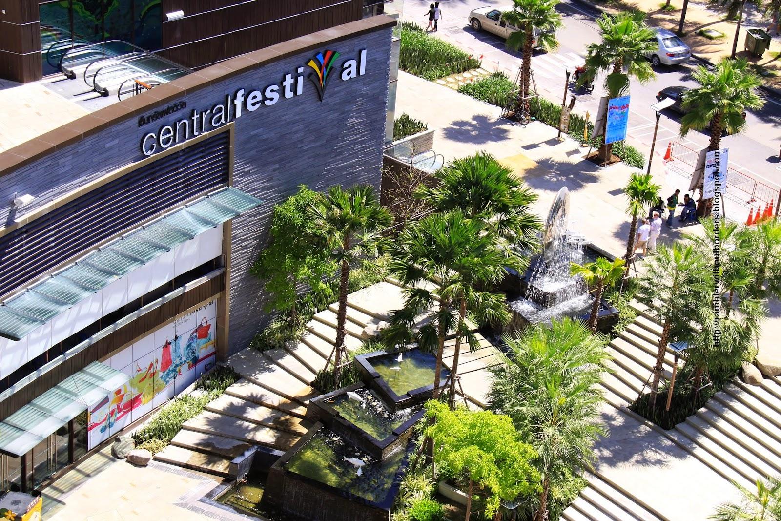 Central Festival shopping mall, Pattaya, Thailand