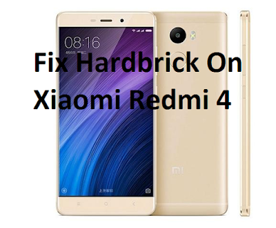 How To Fix HardBrick On Xiaomi Redmi 4 Prime
