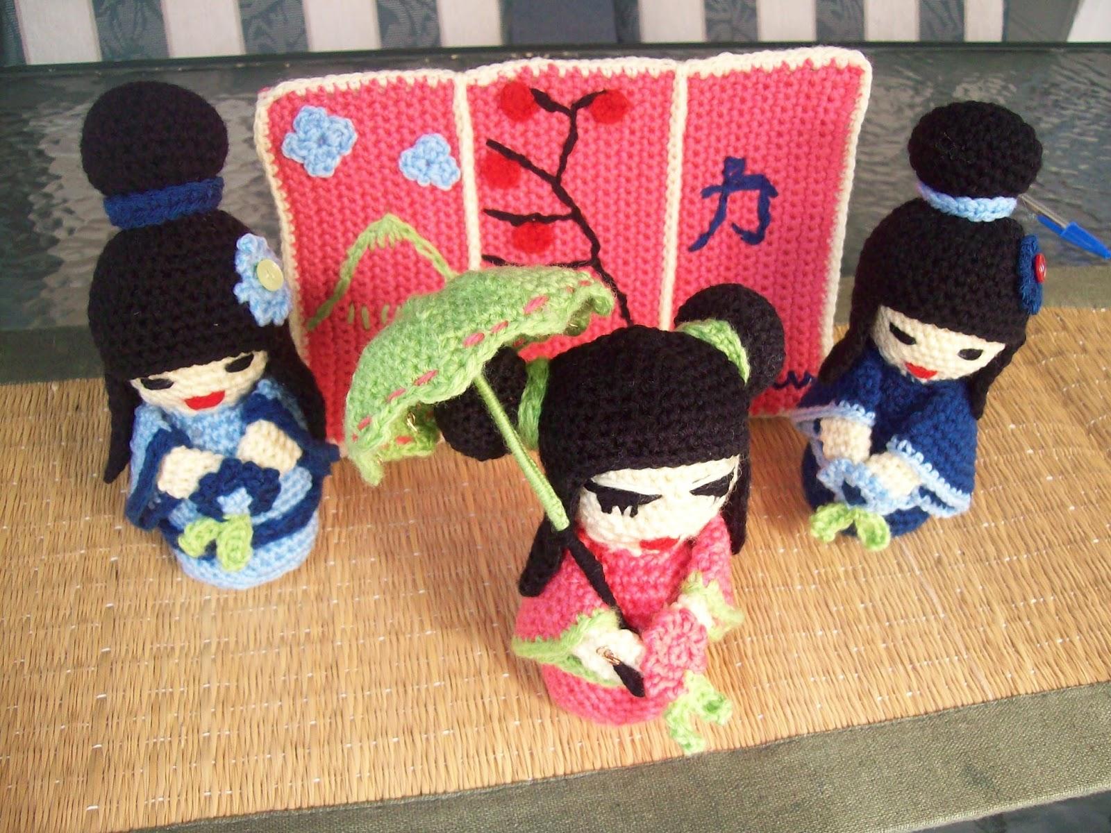 Amigurumi Kokeshi Doll Pattern : Free crochet patterns by cats rockin crochet