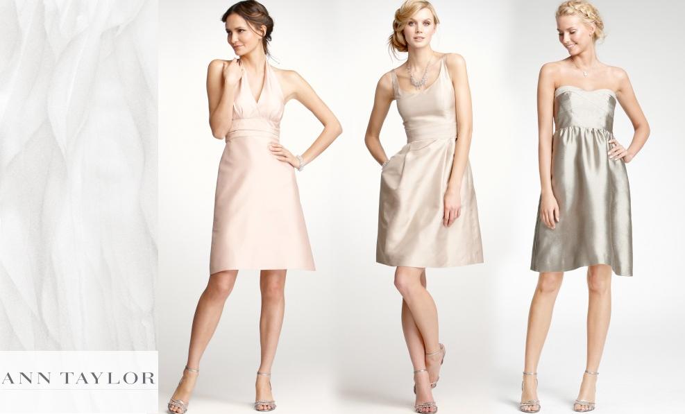 Ann Taylor Wedding Gowns: Heather Gray Photography: Ann Taylor Weddings