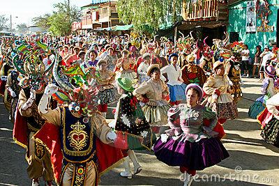 Deck The Holiday S Fiesta De La Tirana From Chile