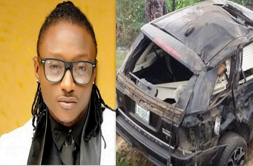 Photos: Terry G Survives Another Terrible Auto Car Crash