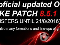 Option File PES 2016 untuk SMoKE Patch 8.5.1 update 22-08-2016