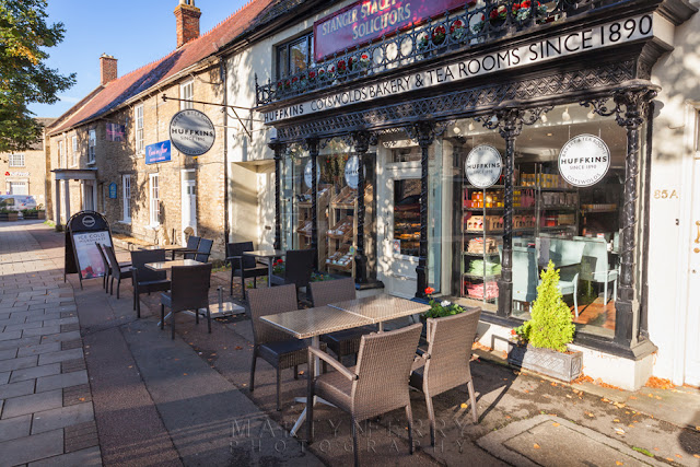 Huffkins bakery on the Witney High Street by Martyn Ferry Photography
