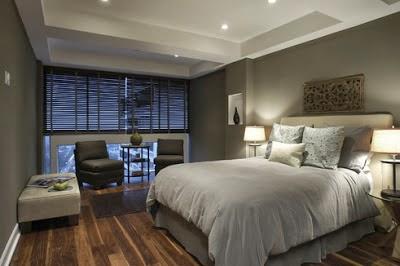 Dormitorios matrimoniales color gris dormitorios colores - Apliques habitacion ...