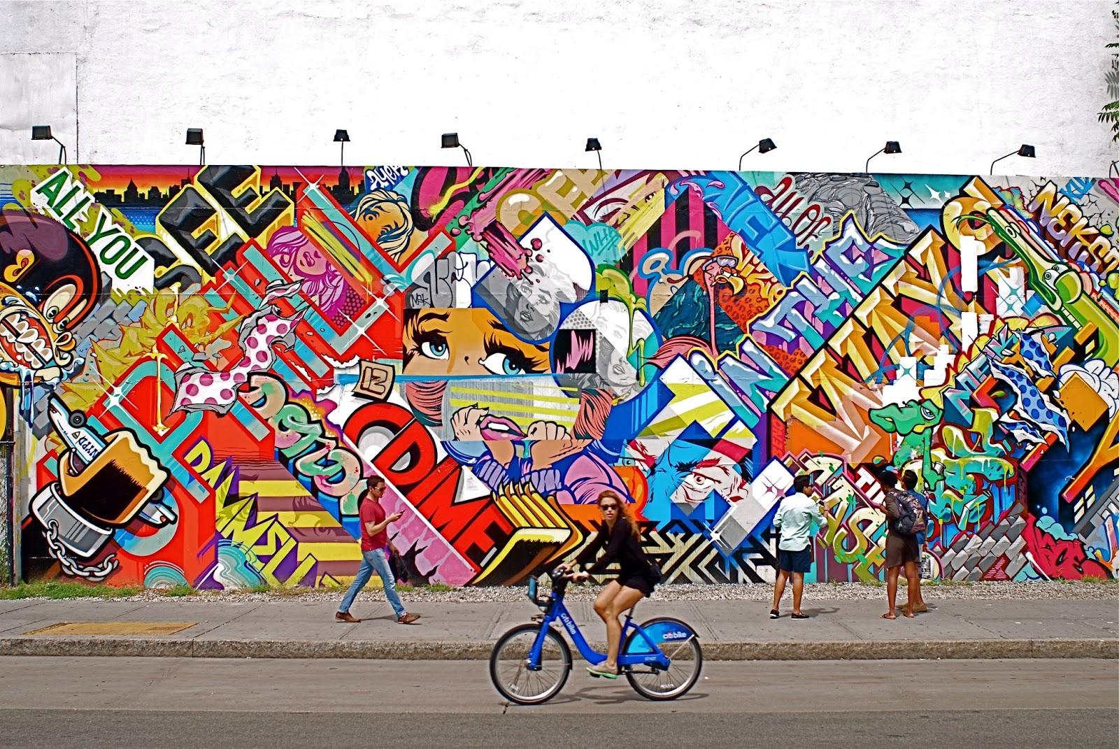 NYC ♥ NYC: Revok And Pose Mural At Bowery And Houston