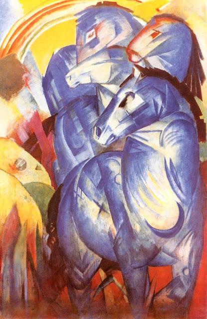 Franz Marc Mavi Atlar Kulesi