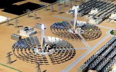 الطاقة الشمسية في السعودية- الطاقة الشمسية المركزة أو الحرارية