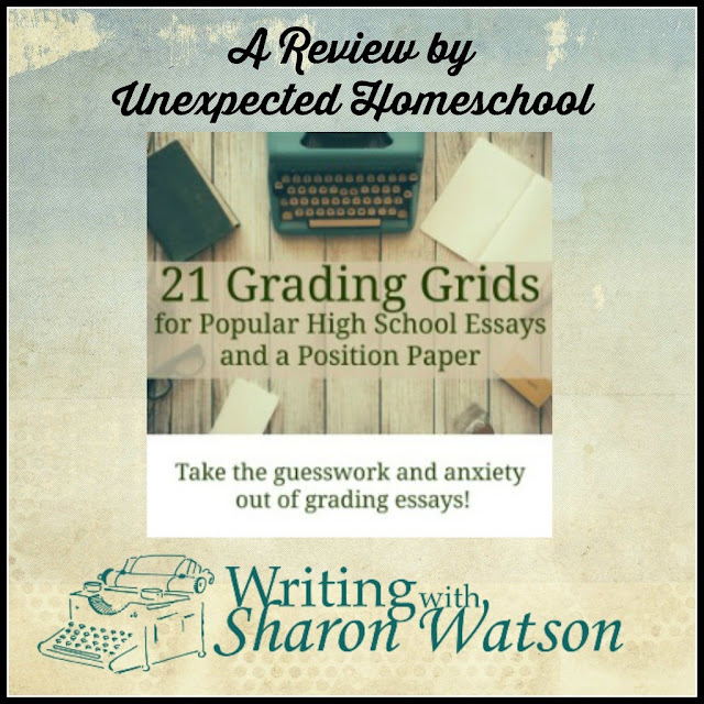 Help grading high school essays from Writing with Sharon Watson