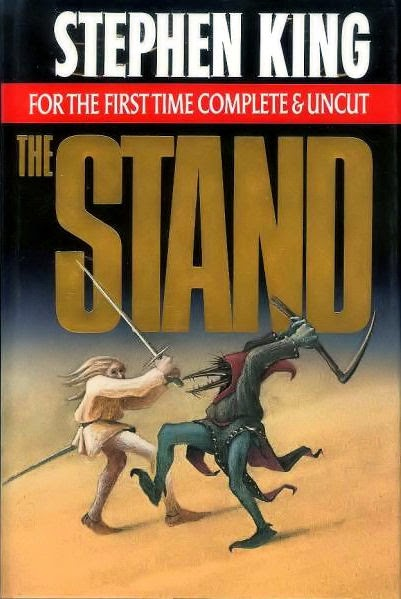 cover of the first complete & uncut publication of the stand by stephen king