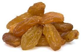 Raisins to increase memory power
