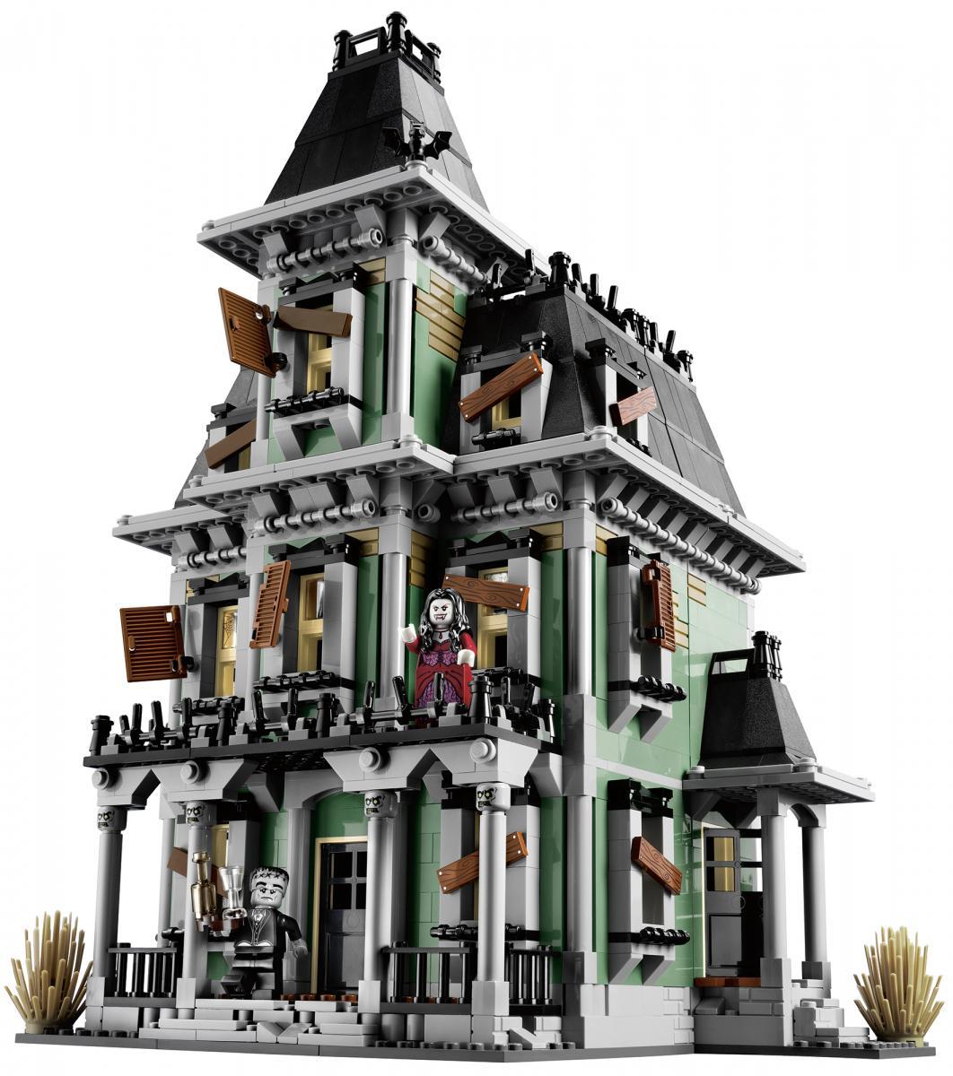 LEGO gosSIP: 100612 LEGO 10228 Haunted House box art and ...
