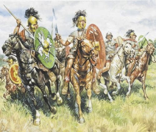 Painting Auxiliarie Caesarian Roman Cavalry picture 1