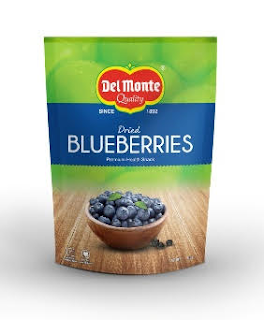 Del Monte catches the flavor of the season; launches packaged Dried Blueberries