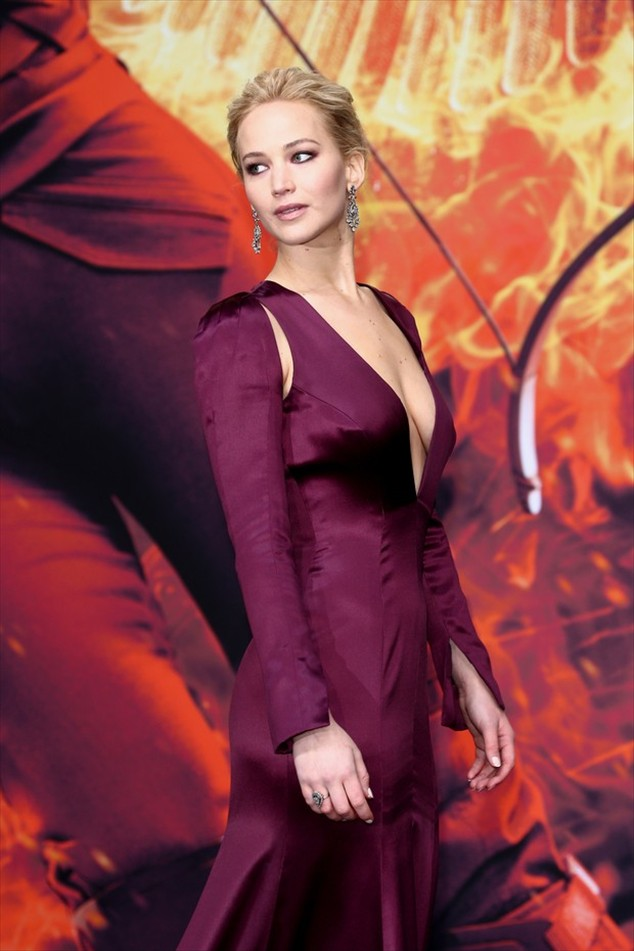 Jennifer Lawrence at the premiere of The Hunger Games: Hope - Part 2 in Berlin