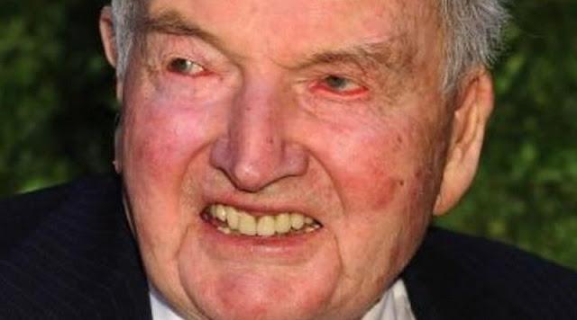 Illuminati David Rockefeller morreu hoje aos 101 anos