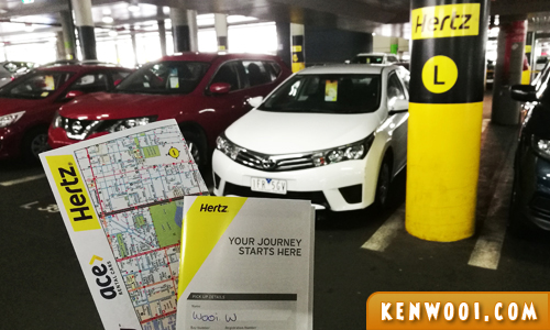 hertz car hire