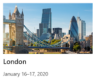 Speaking at Microsoft Ignite The Tour: London 2020