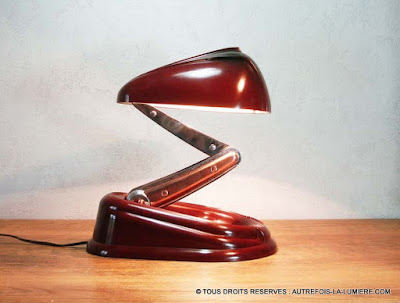 lampe bolide
