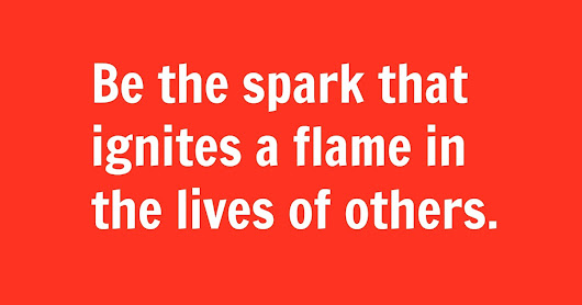 let the children play: Be the Spark that Ignites the Flame
