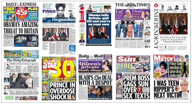 front pages 23-04-16
