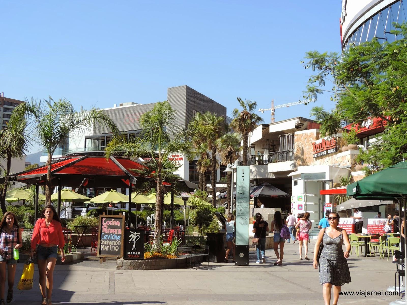 Como é o Shopping Parque Arauco, em Santiago - Chile | Viajar hei - Relatos, dicas, agência de viagens