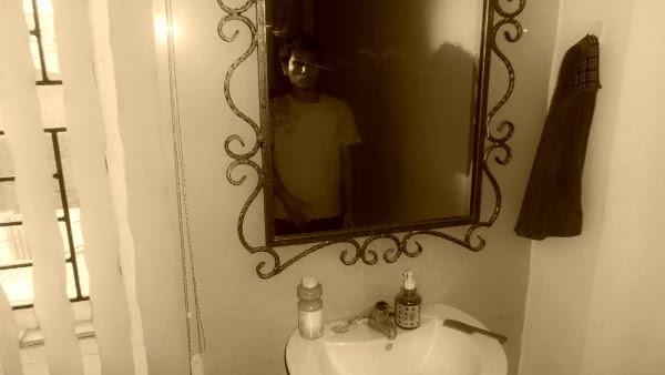 cermin, bayangan, ketakutan