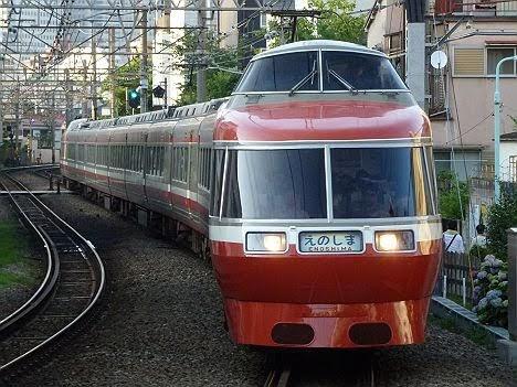 【運行終了!】江ノ島線のLSE7000形えのしま号