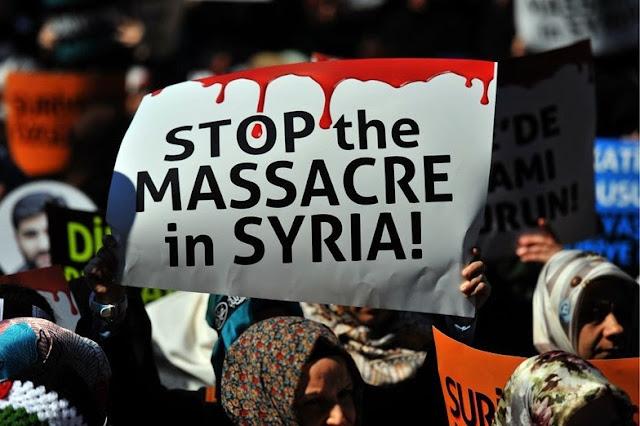 Resultado de imagen de Así empezó la guerra abierta de EE.UU. contra Siria